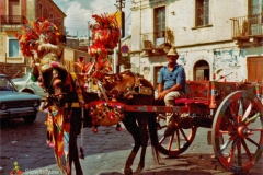 sicilian cart from Messina